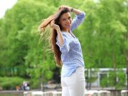How To Look Good In White Pants