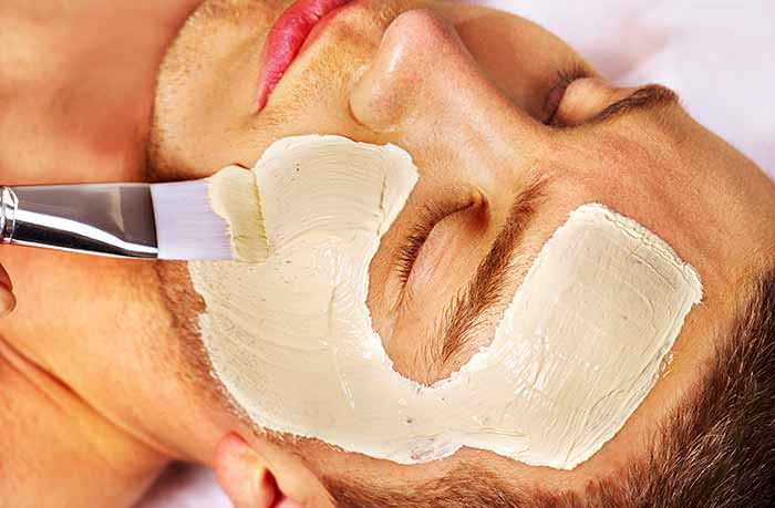 Homemade Face Pack for Oily Skin for Men