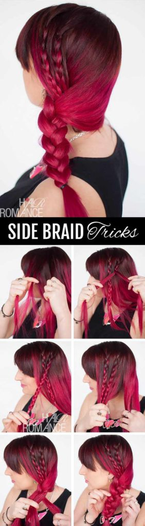 Accented Side Braid
