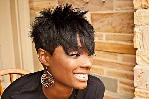 Best Spiked Black Women Hairstyle