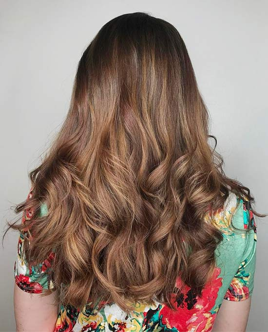 Brownie Caramel Highlights