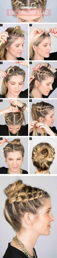 Chic Shoelace Braid