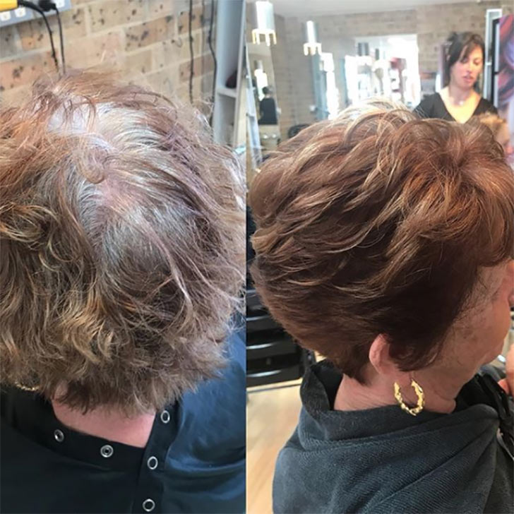 Curly Crop Hair with Volume
