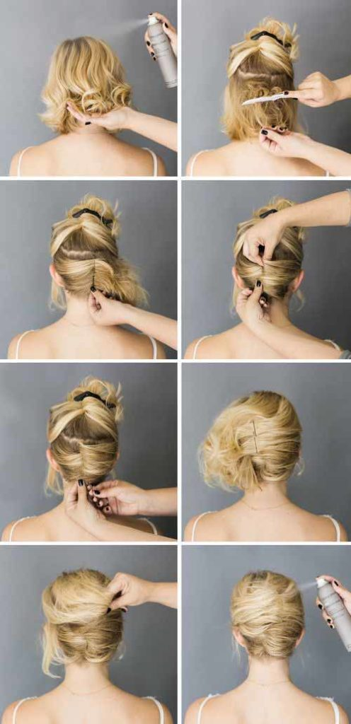 Double Sided French Twist