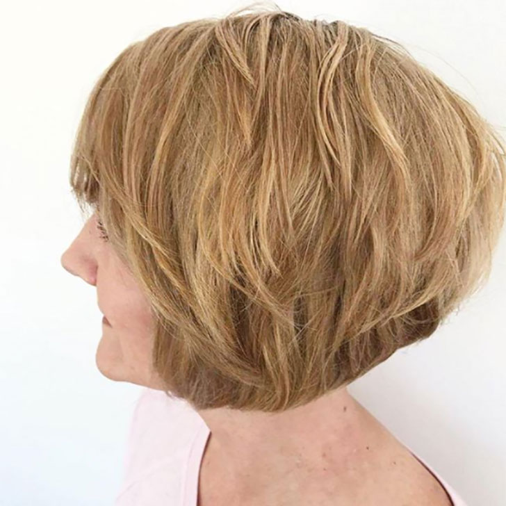 Ear-Length Sassy and Stacked Hairstyles