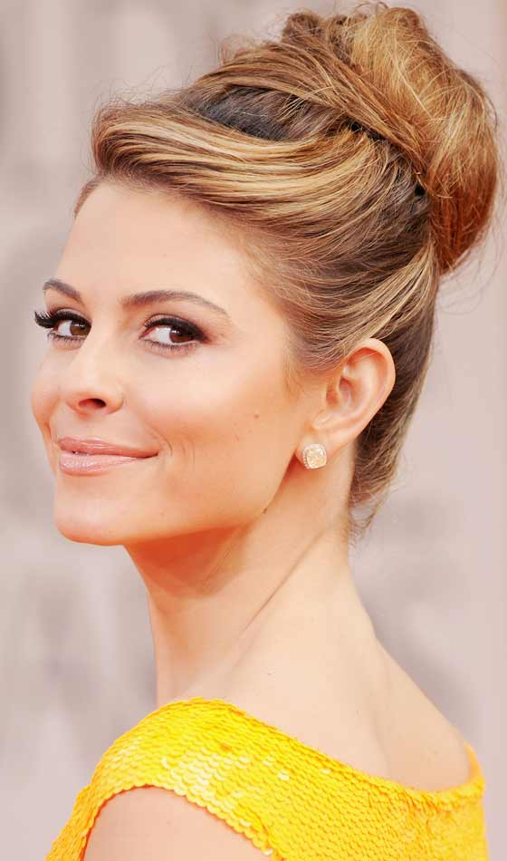 French Twist With Beehive