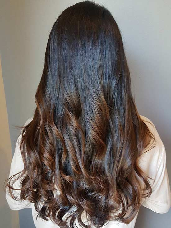 Intense Caramel Highlights