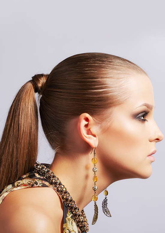 Knotted Ponytail