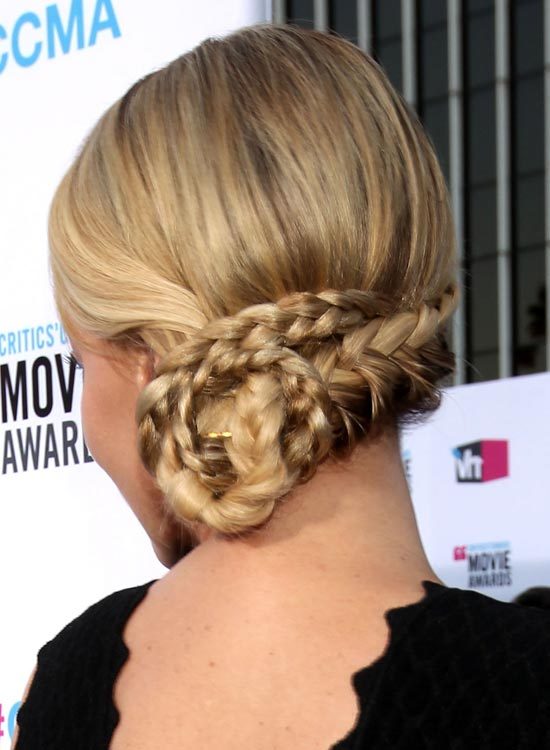 Low Braid Chignon