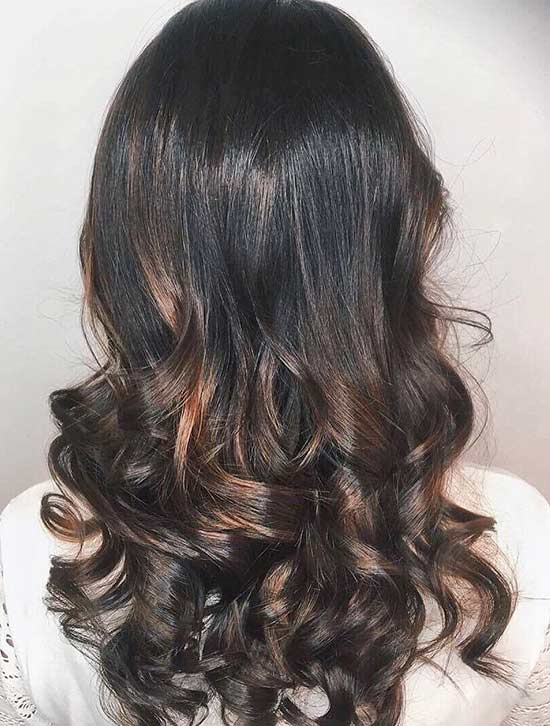 Mahogany Caramel Highlights