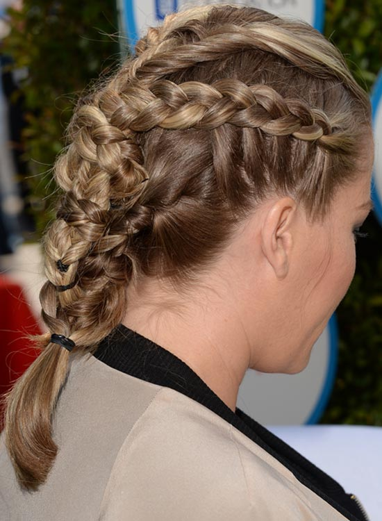 Neat And Tidy Multi-Braided Hair