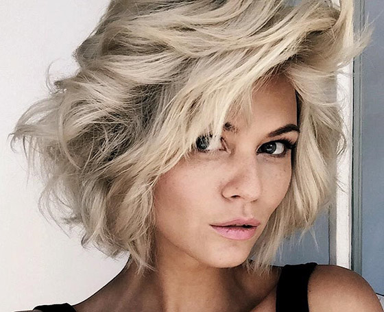 Platinum Short Shag Layers