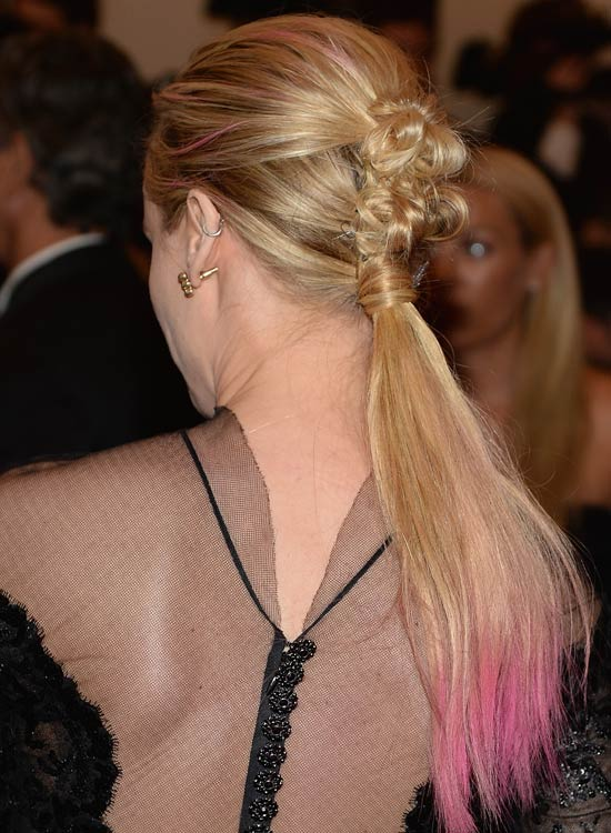 Rose Knotted Ponytail