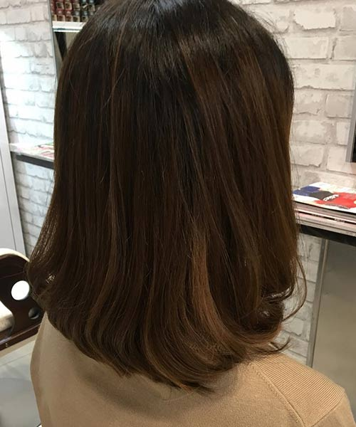 Rounded Edges Long Bob