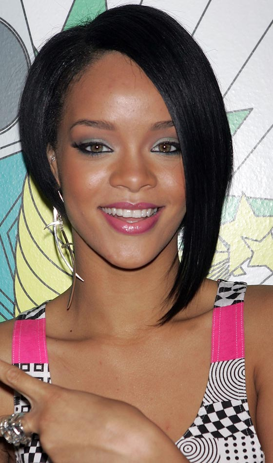 Short Cropped Asymmetrical Hairstyle