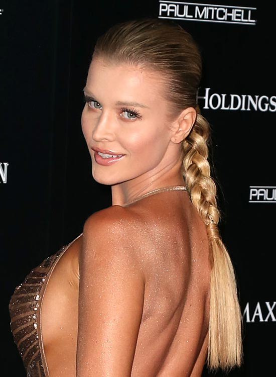 Smooth Tight Braid With Hair Wraps