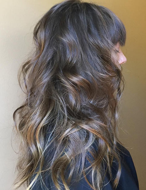 Soft Wavy Layers