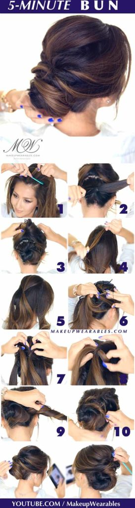 The 5-Minute Bun
