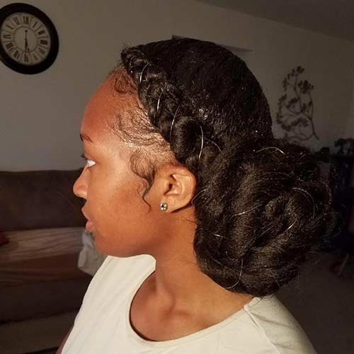 The Butterfly Braid Updo