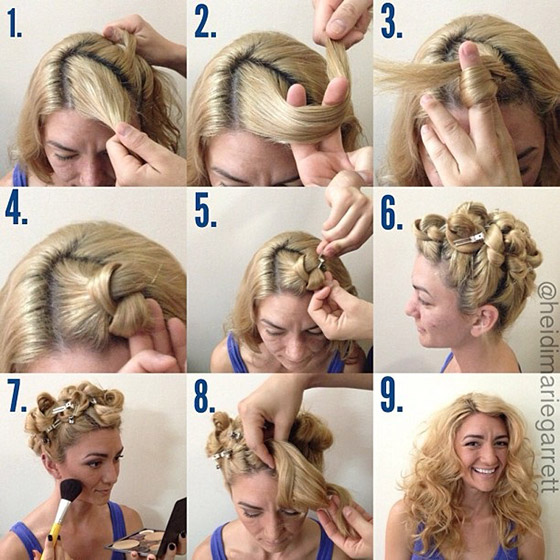The Hair Knotting Technique
