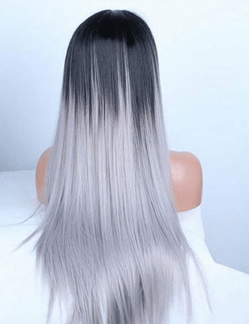 The Silky Straight Layered