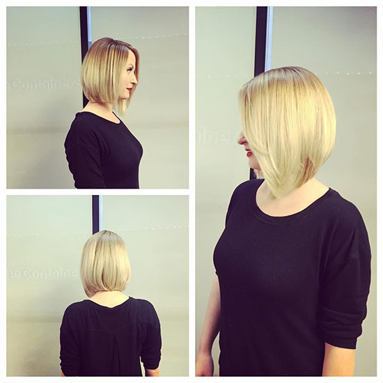 The Sleek And Straight Look