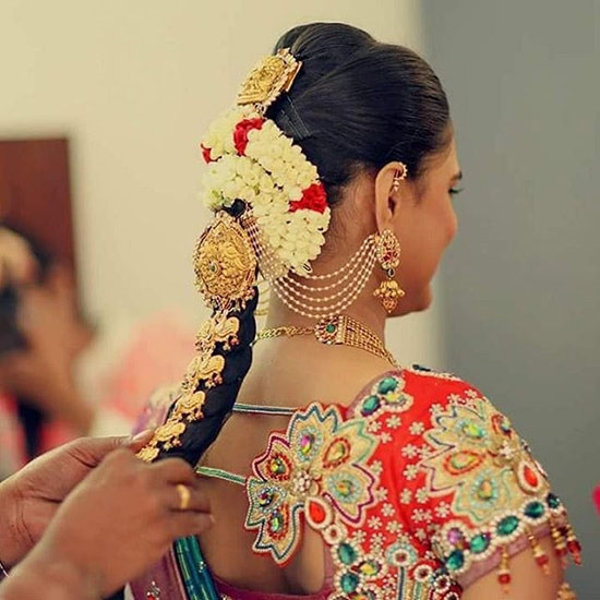The South Indian Style Braid