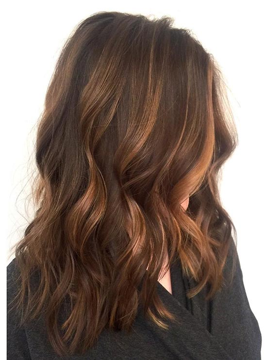 Thick Caramel Highlights